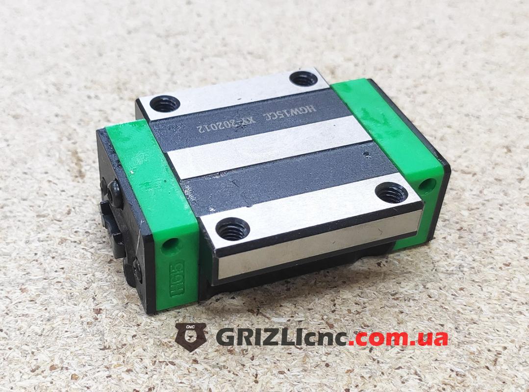 Линейный подшипник HGW15CC (аналог HIWIN) - каретка с фланцем   Фото: 1