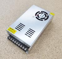 Блок питания 24В 15А 360Вт боковое крепление - активное охлаждение
