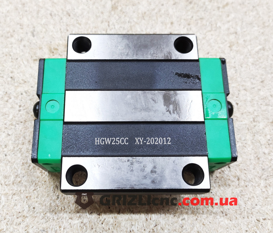 Линейный подшипник HGW25CC (аналог HIWIN) - каретка c фланцем | Фото: 1