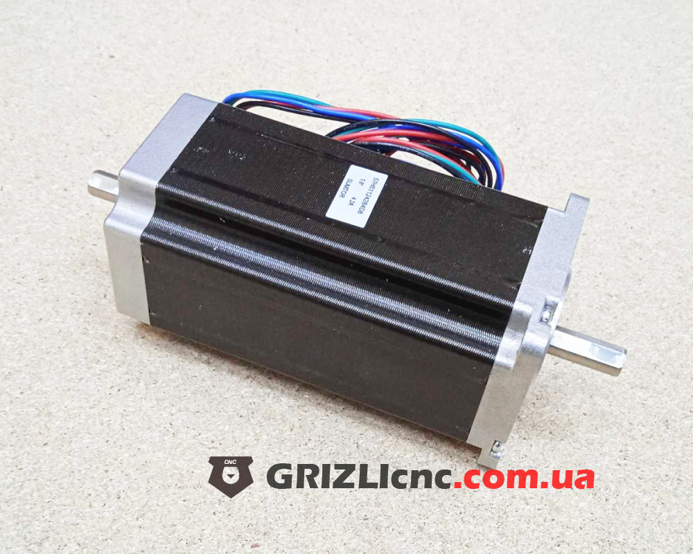 Шаговый двигатель Nema23 3Nm 4.2 Ампера 112мм - 2 вала | Фото: 1