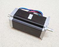Шаговый двигатель Nema23 3Nm 4.2 Ампера 112мм - 2 вала