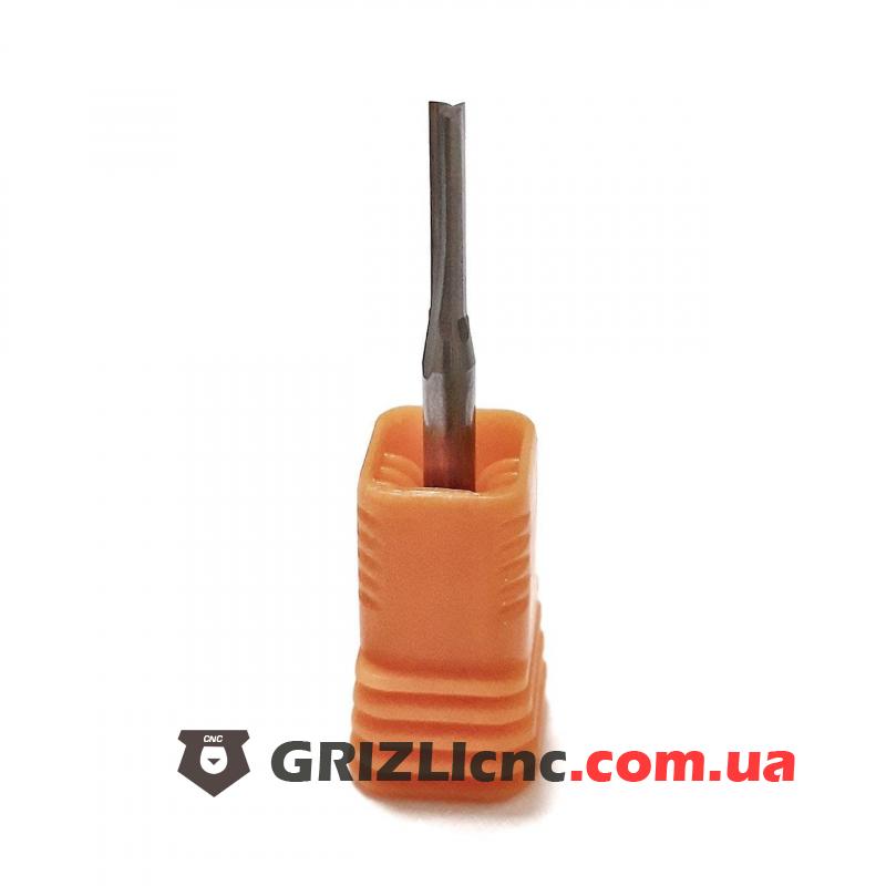 Фреза двухзаходная с прямыми ножами D2 L12 3A | Фото: 1