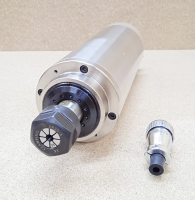 Шпиндель GDZ 2.2кВт 220В цанга ЕR20 водяное охлаждение (4 подшипника) - Фото: 4