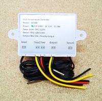 Электронное Термореле 220В 10А 1.5кВт XK-W1088 - двухканальное - Фото: 2