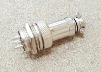 Разьем цилиндрический GX16 6pin (мама+папа) - Фото: 4